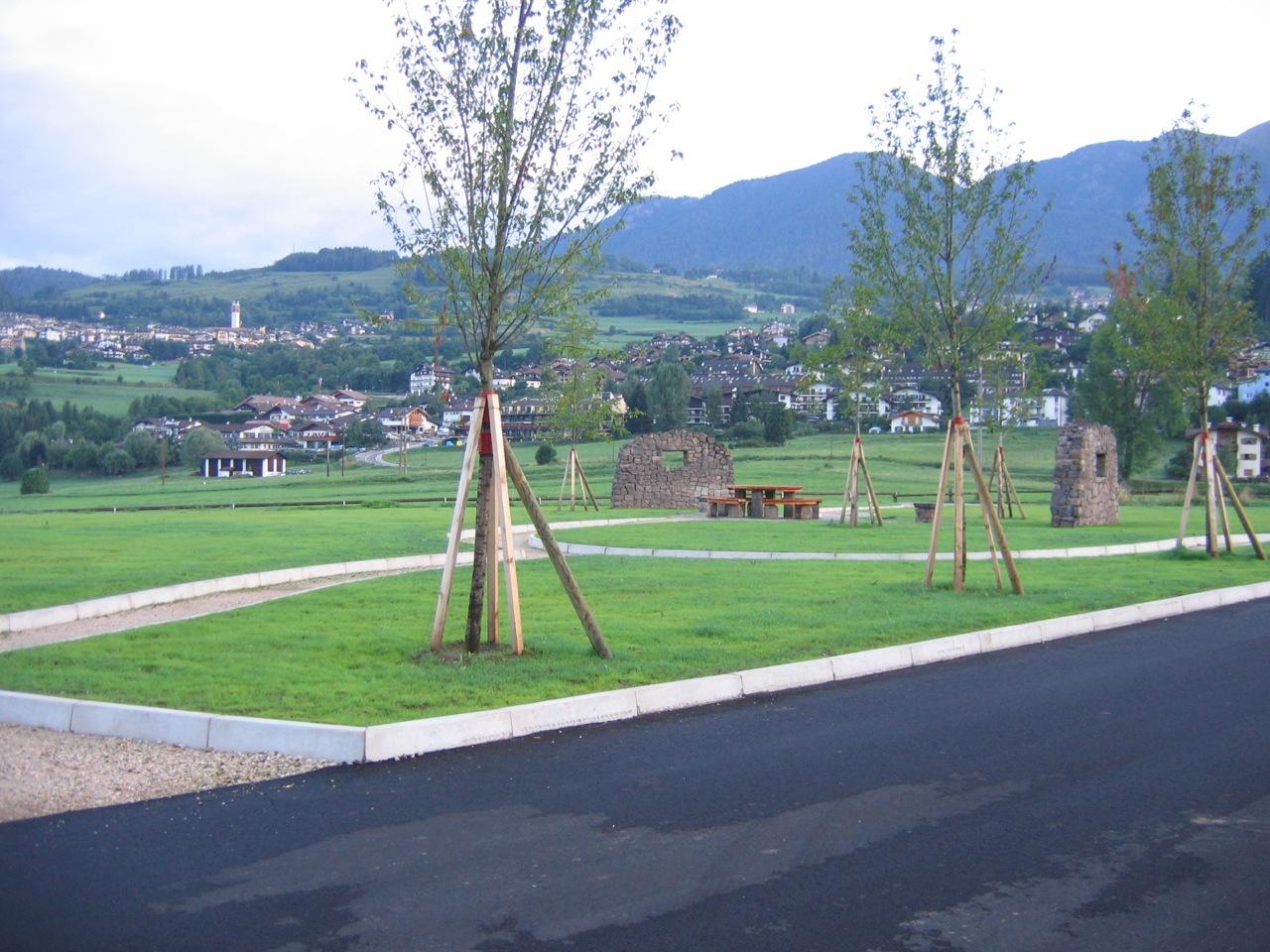 Franco Betta - parchi e opere in verde